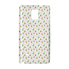 Fruit Pattern Vector Background Samsung Galaxy Note 4 Hardshell Case