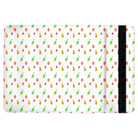 Fruit Pattern Vector Background iPad Air 2 Flip