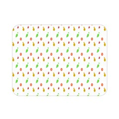Fruit Pattern Vector Background Double Sided Flano Blanket (Mini)