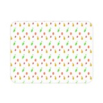 Fruit Pattern Vector Background Double Sided Flano Blanket (Mini)  35 x27 Blanket Front