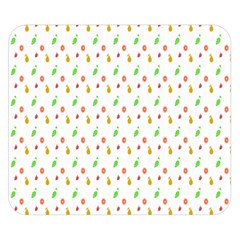 Fruit Pattern Vector Background Double Sided Flano Blanket (Small)