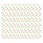 Fruit Pattern Vector Background Double Sided Flano Blanket (Small)  50 x40 Blanket Front