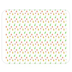 Fruit Pattern Vector Background Double Sided Flano Blanket (Medium)