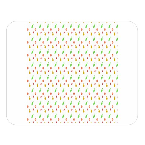 Fruit Pattern Vector Background Double Sided Flano Blanket (Large)