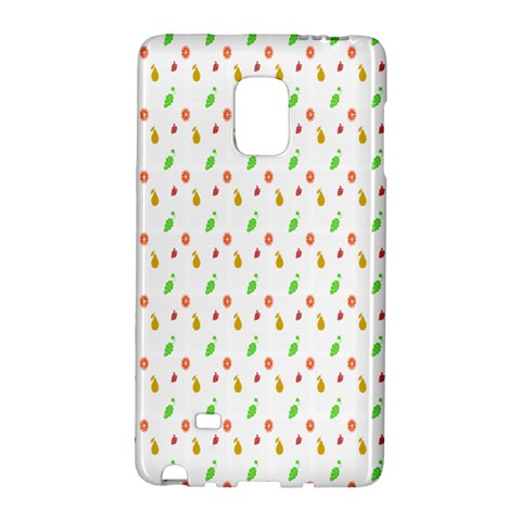 Fruit Pattern Vector Background Galaxy Note Edge