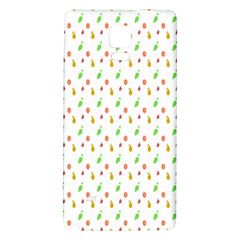 Fruit Pattern Vector Background Galaxy Note 4 Back Case