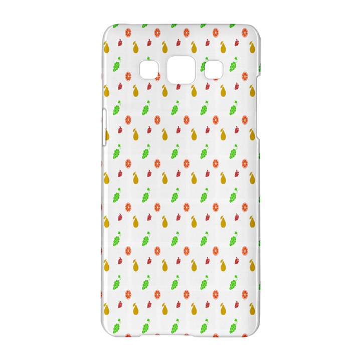 Fruit Pattern Vector Background Samsung Galaxy A5 Hardshell Case
