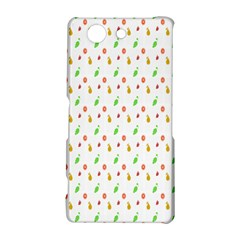 Fruit Pattern Vector Background Sony Xperia Z3 Compact