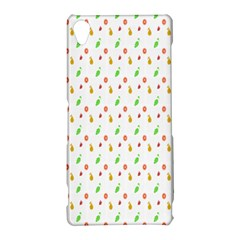 Fruit Pattern Vector Background Sony Xperia Z3