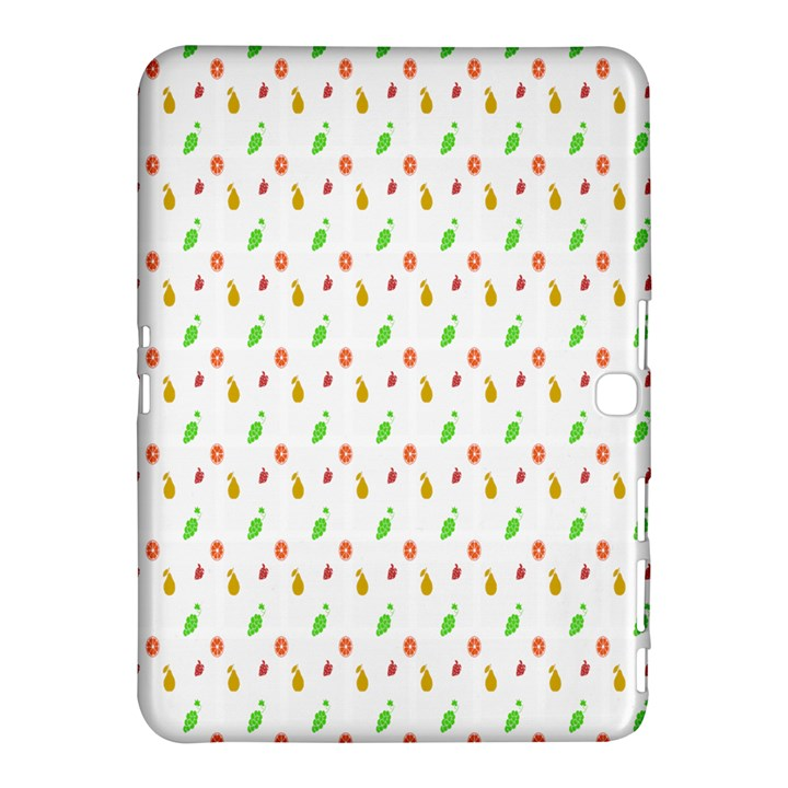 Fruit Pattern Vector Background Samsung Galaxy Tab 4 (10.1 ) Hardshell Case