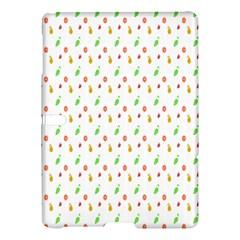 Fruit Pattern Vector Background Samsung Galaxy Tab S (10.5 ) Hardshell Case