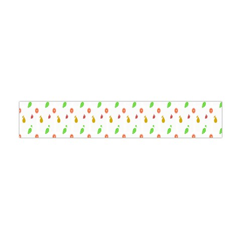 Fruit Pattern Vector Background Flano Scarf (Mini)