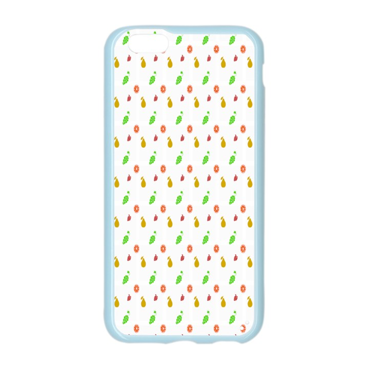 Fruit Pattern Vector Background Apple Seamless iPhone 6/6S Case (Color)