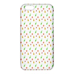 Fruit Pattern Vector Background iPhone 6/6S TPU Case