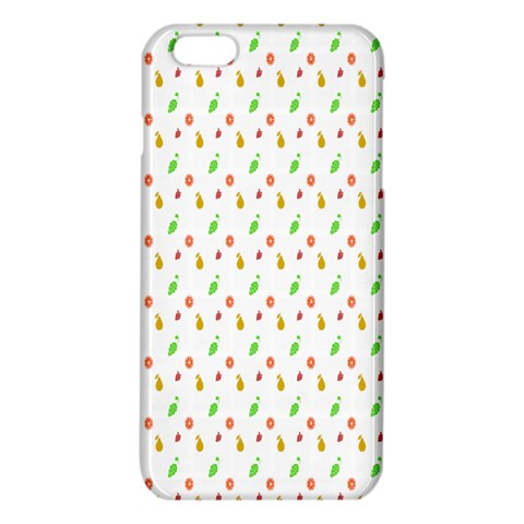 Fruit Pattern Vector Background iPhone 6 Plus/6S Plus TPU Case