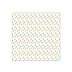 Fruit Pattern Vector Background Satin Bandana Scarf