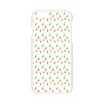 Fruit Pattern Vector Background Apple Seamless iPhone 6/6S Case (Transparent) Front