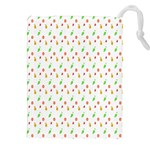 Fruit Pattern Vector Background Drawstring Pouches (XXL) Front