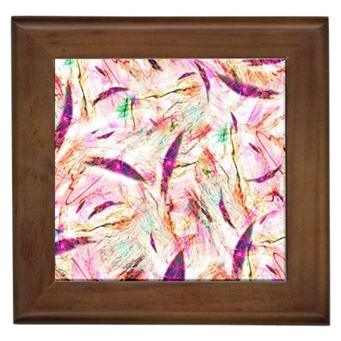 Grass Blades Framed Tiles