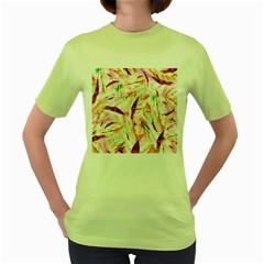 Grass Blades Women s Green T-Shirt