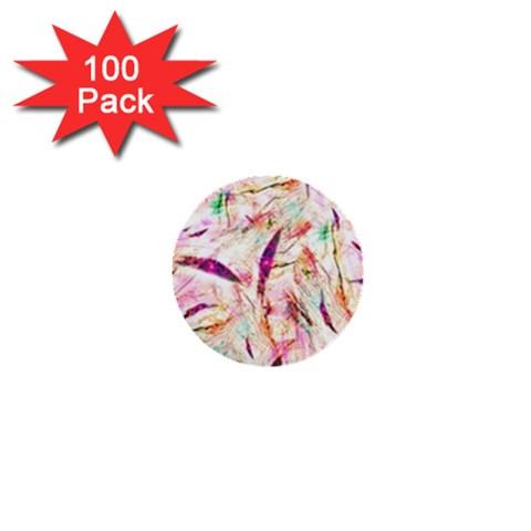 Grass Blades 1  Mini Buttons (100 pack)