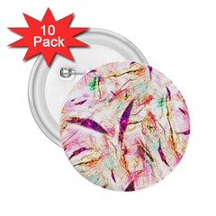 Grass Blades 2.25  Buttons (10 pack)
