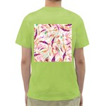 Grass Blades Green T-Shirt Back