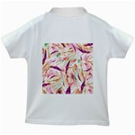 Grass Blades Kids White T-Shirts Back