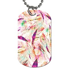 Grass Blades Dog Tag (One Side)