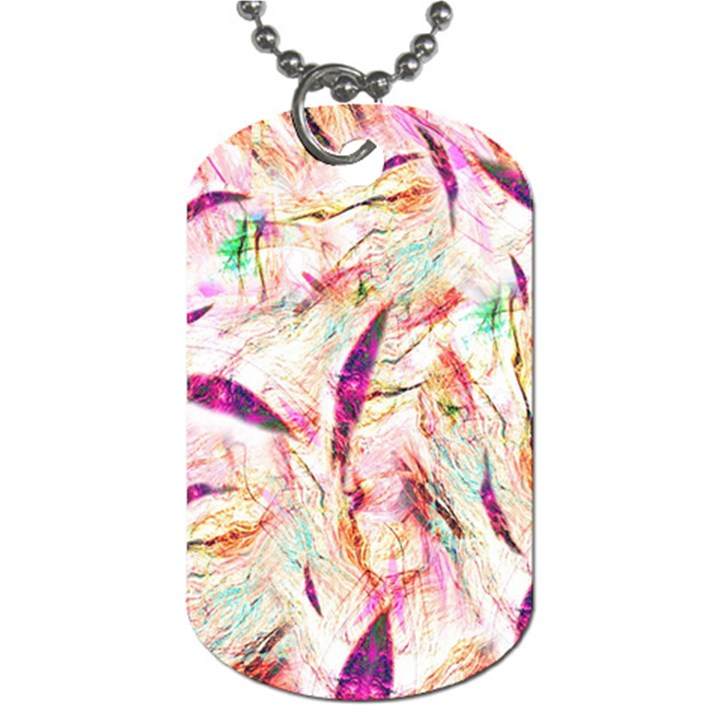 Grass Blades Dog Tag (Two Sides)
