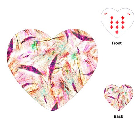 Grass Blades Playing Cards (Heart)