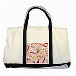 Grass Blades Two Tone Tote Bag Front