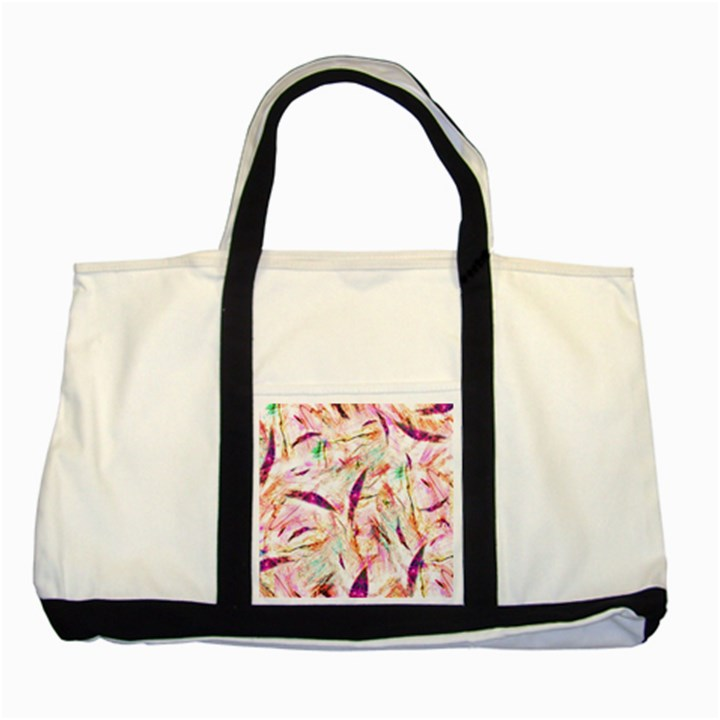 Grass Blades Two Tone Tote Bag