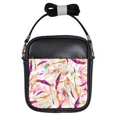Grass Blades Girls Sling Bags