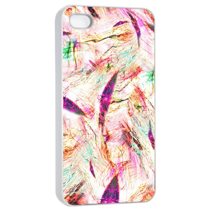 Grass Blades Apple iPhone 4/4s Seamless Case (White)