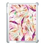 Grass Blades Apple iPad 3/4 Case (White) Front