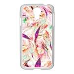 Grass Blades Samsung GALAXY S4 I9500/ I9505 Case (White) Front