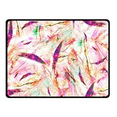 Grass Blades Double Sided Fleece Blanket (Small)