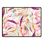 Grass Blades Double Sided Fleece Blanket (Small)  50 x40 Blanket Front