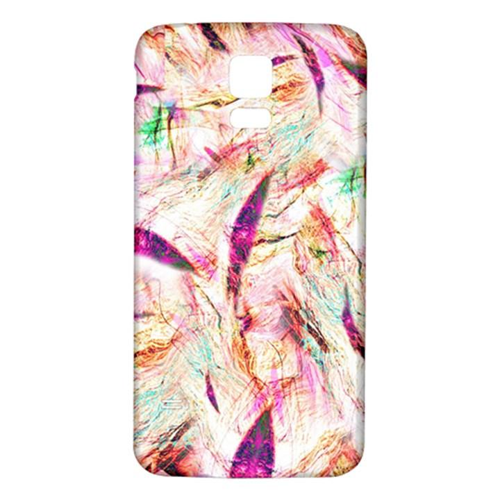 Grass Blades Samsung Galaxy S5 Back Case (White)