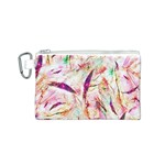 Grass Blades Canvas Cosmetic Bag (S) Front