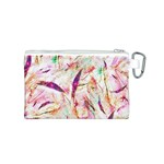 Grass Blades Canvas Cosmetic Bag (S) Back