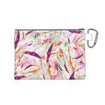Grass Blades Canvas Cosmetic Bag (M) Back