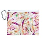 Grass Blades Canvas Cosmetic Bag (L) Front