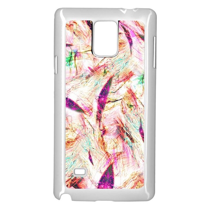Grass Blades Samsung Galaxy Note 4 Case (White)