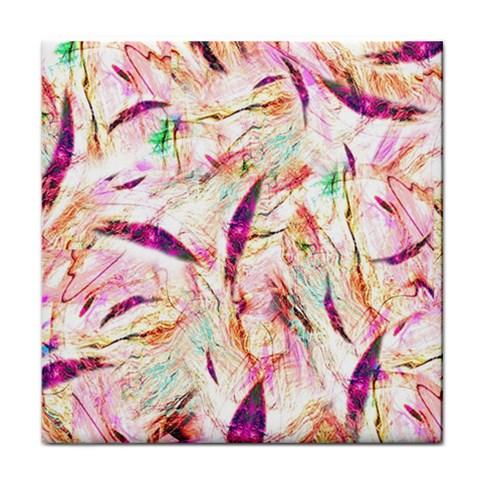Grass Blades Tile Coasters
