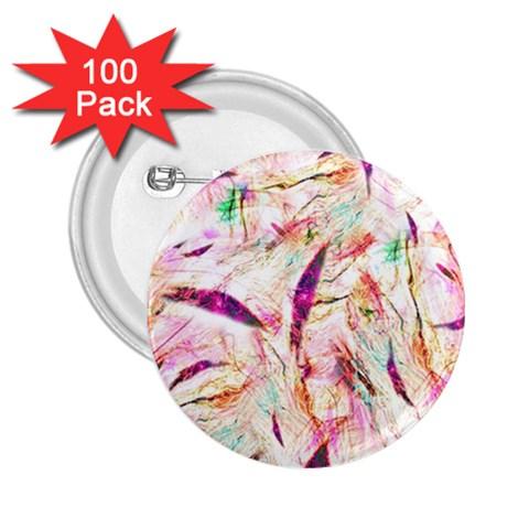 Grass Blades 2.25  Buttons (100 pack)