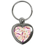 Grass Blades Key Chains (Heart)  Front