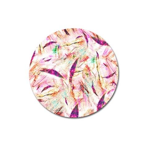 Grass Blades Magnet 3  (Round)