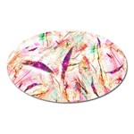 Grass Blades Oval Magnet Front